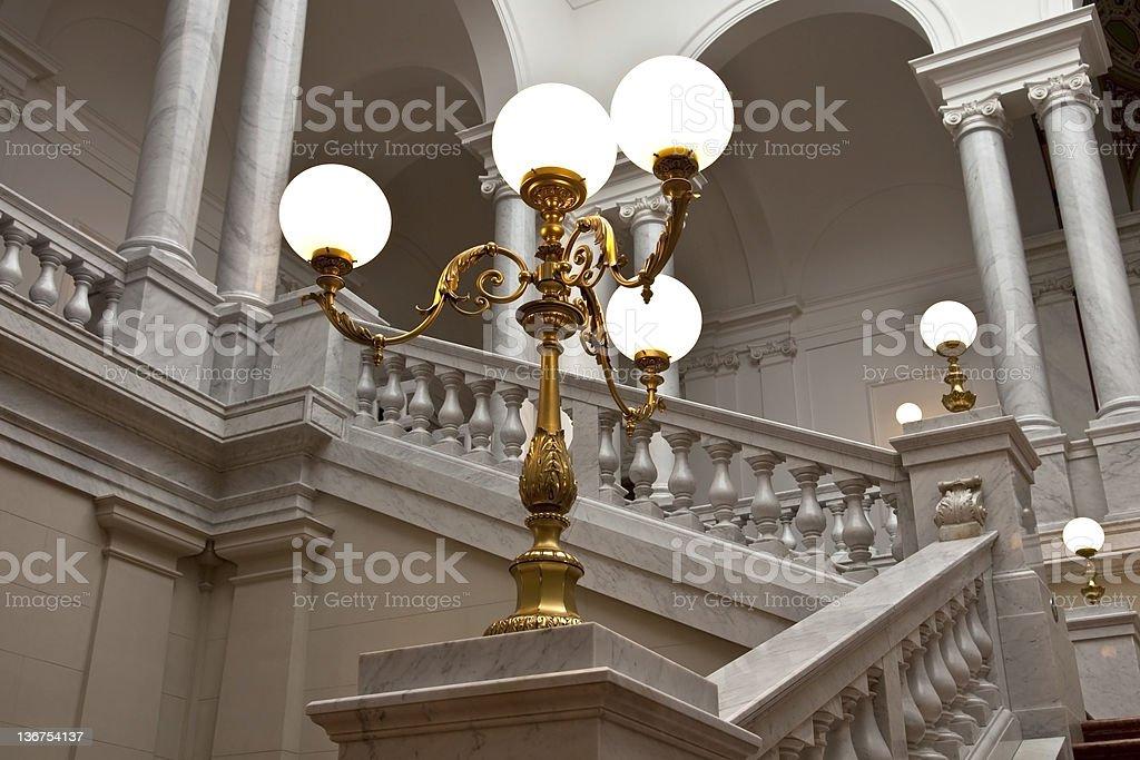 Romantic old lamp royalty-free stock photo