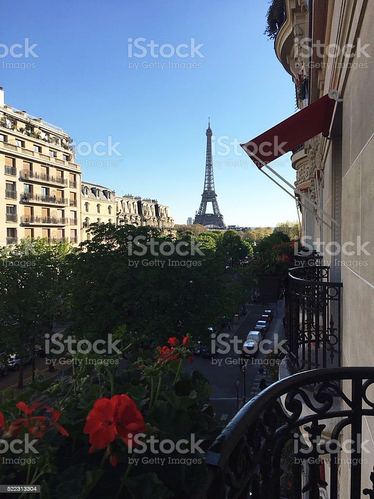 Romantic Paris stock photo