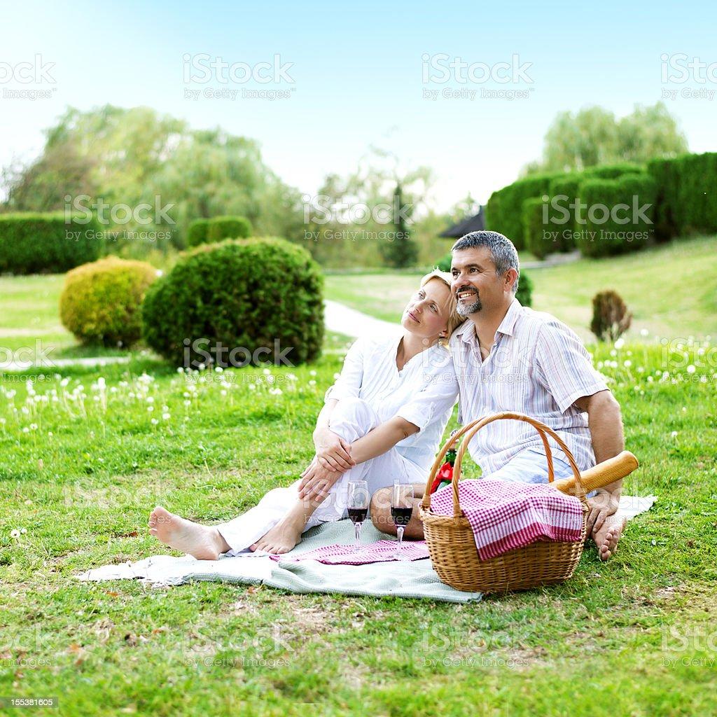 Romantic Picnic royalty-free stock photo