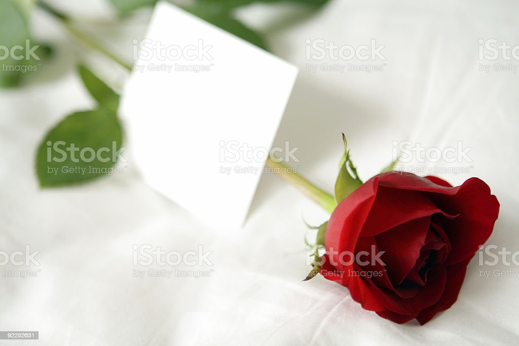 Romantic royalty-free stock photo