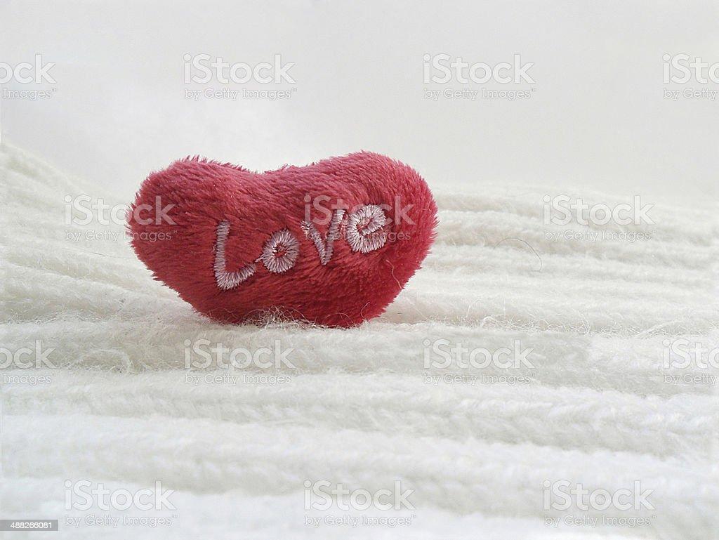 Romantic postcard royalty-free stock photo