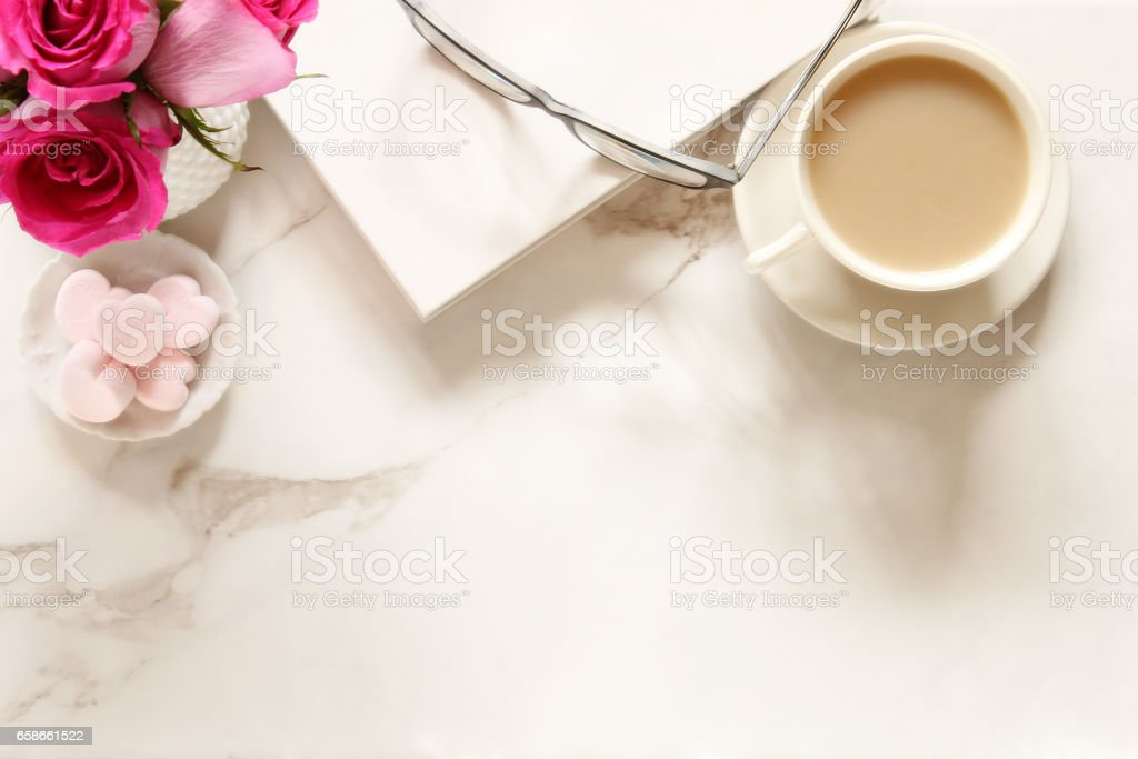 Romantic quiet time stock photo
