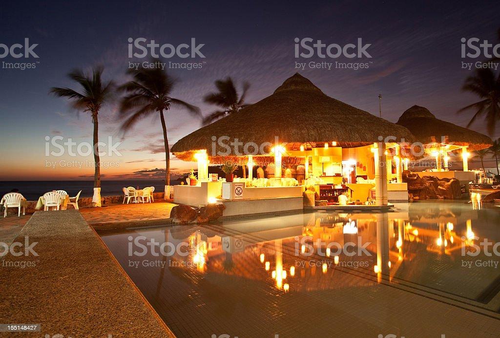 Romantic Restaurant stock photo