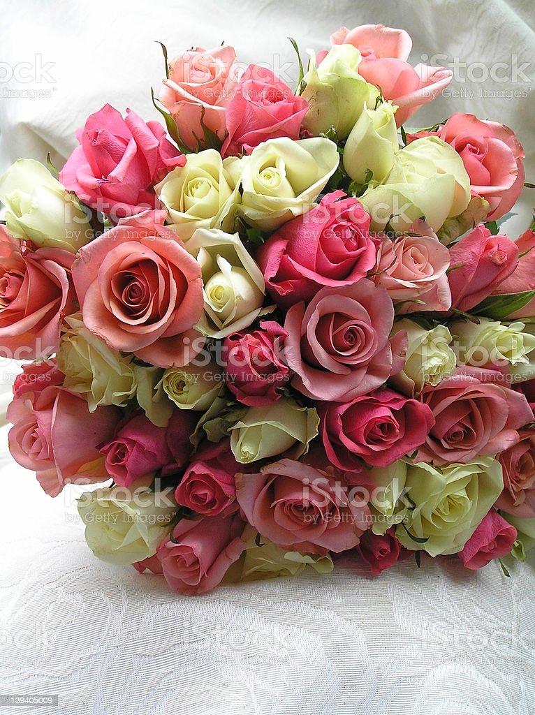 romantic roses royalty-free stock photo