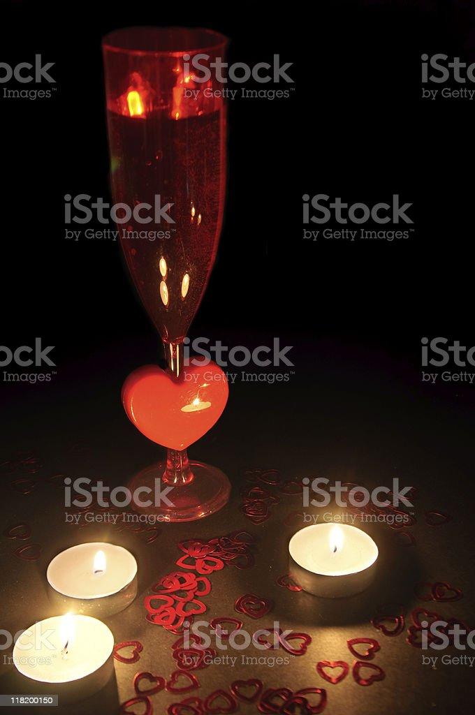 Romantic Scene stock photo