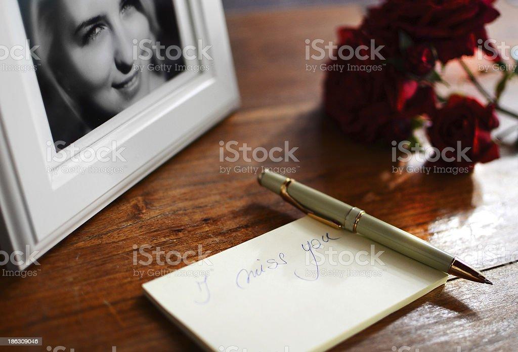 Romantic shot, love concept stock photo