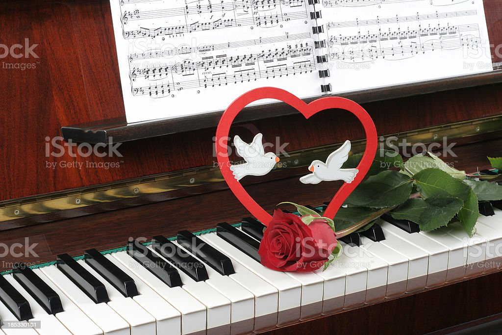 romantic song royalty-free stock photo