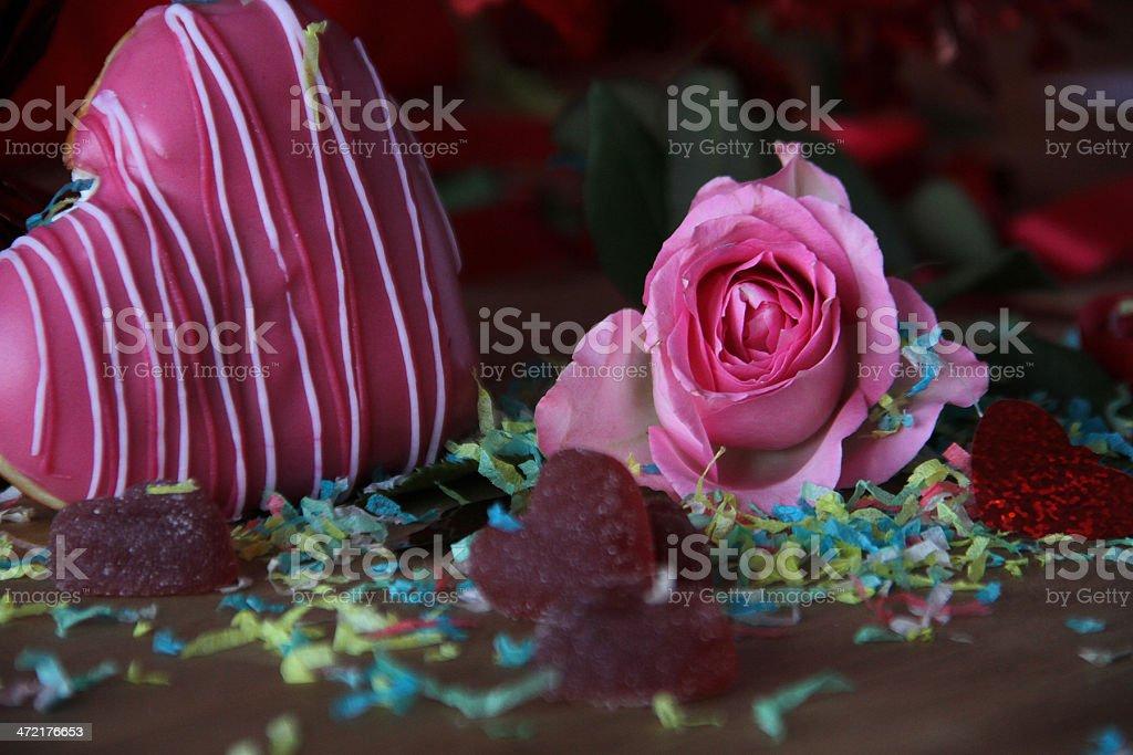 Romantico Visualizzazione tabella foto stock royalty-free