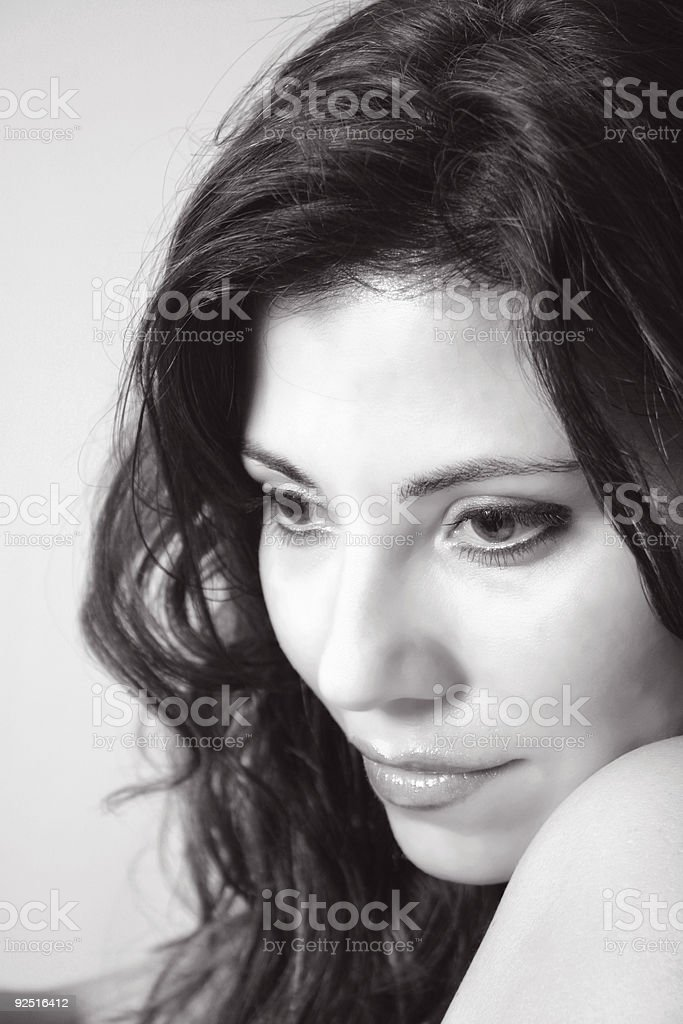 Romantic thoughts royalty-free stock photo