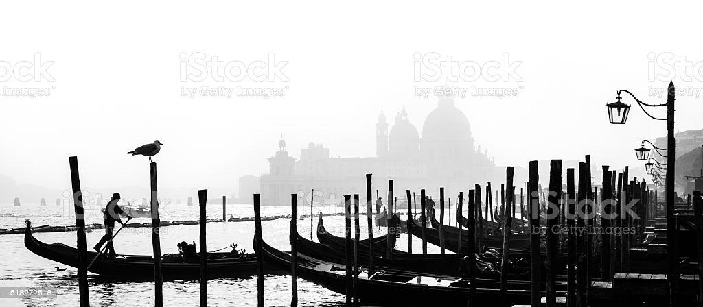 Romantic Venice, Italy stock photo