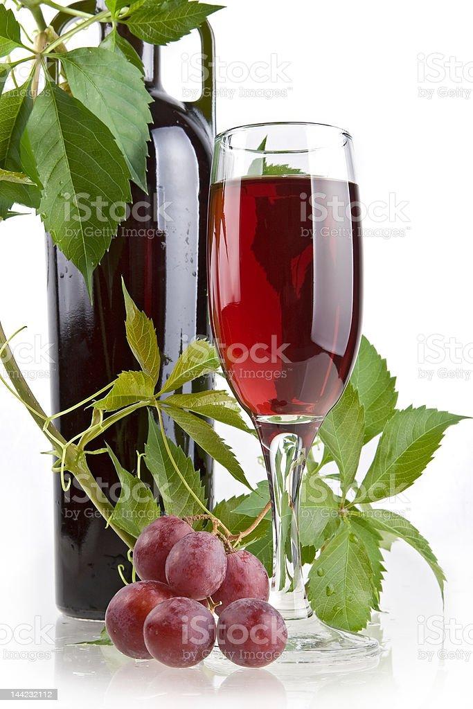 Romantic wine still-life royalty-free stock photo