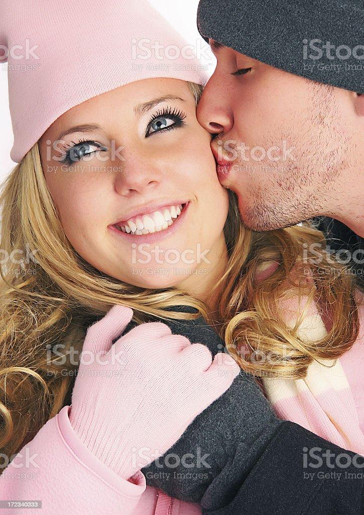 Romantic Winter royalty-free stock photo