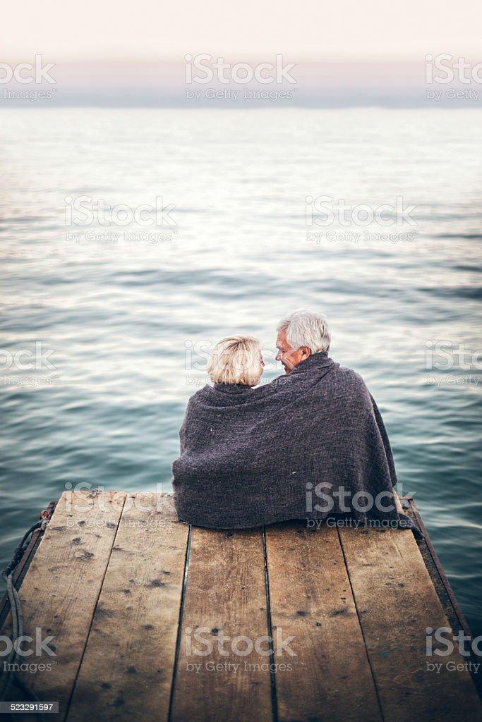 Romantics stock photo