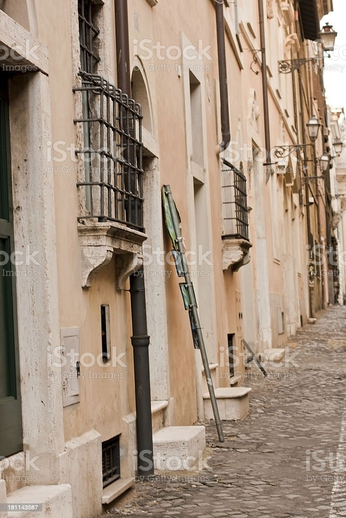 Rome alley royalty-free stock photo