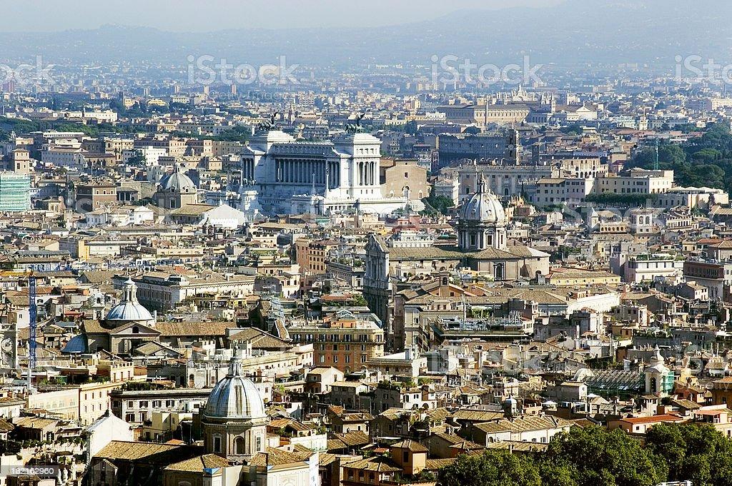 Rome - City View 2 stock photo