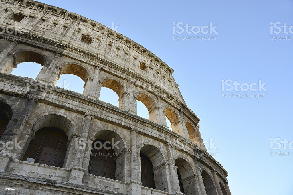 rome coliseum royalty-free stock photo