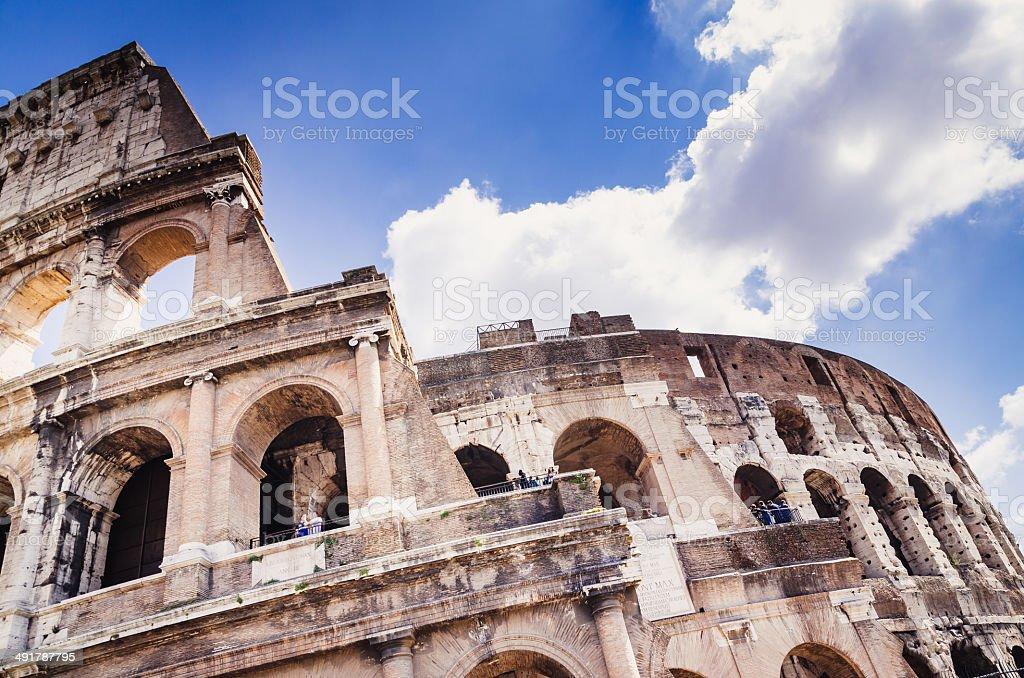 Rome Coliseum stock photo