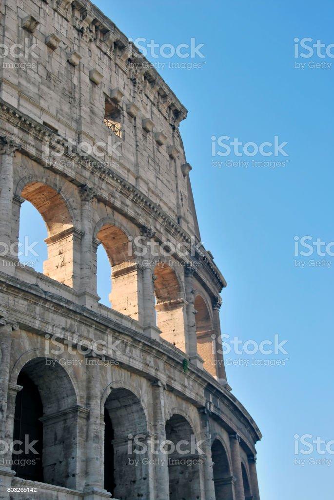 Rome Colisseum stock photo