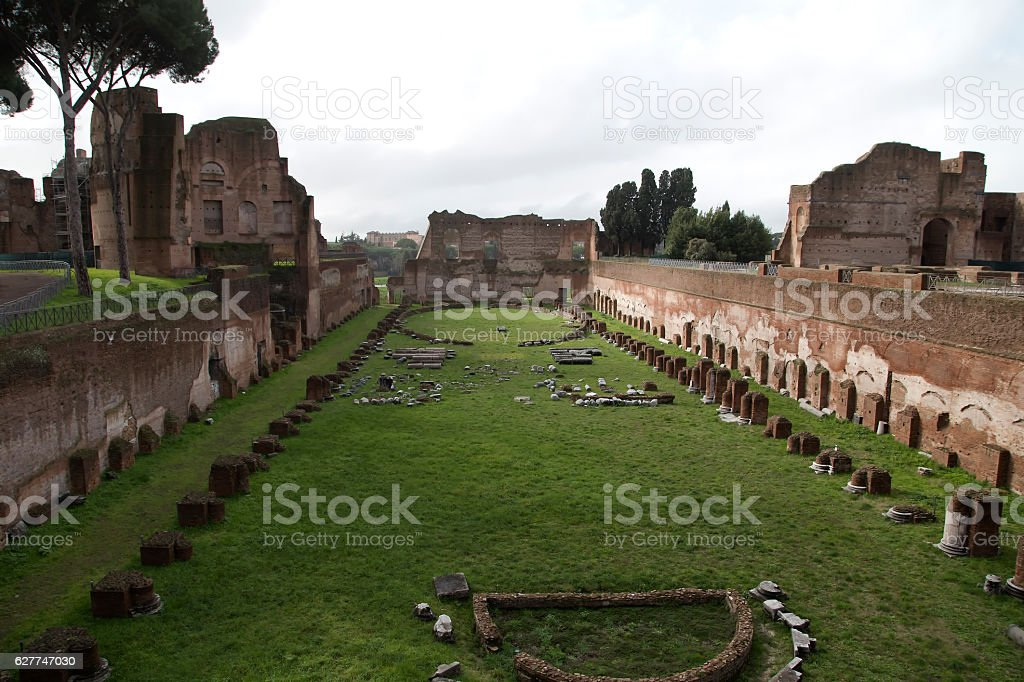Rome - Colle Palatino - Lazio - Italy stock photo