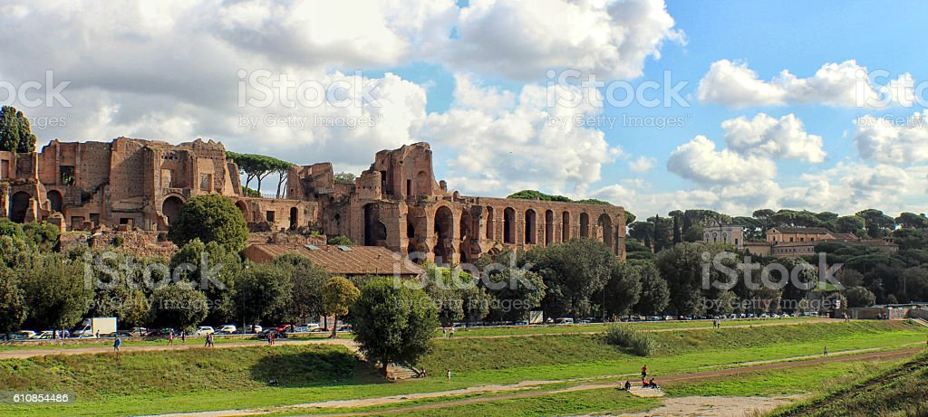 Rome - Colle Palatino stock photo