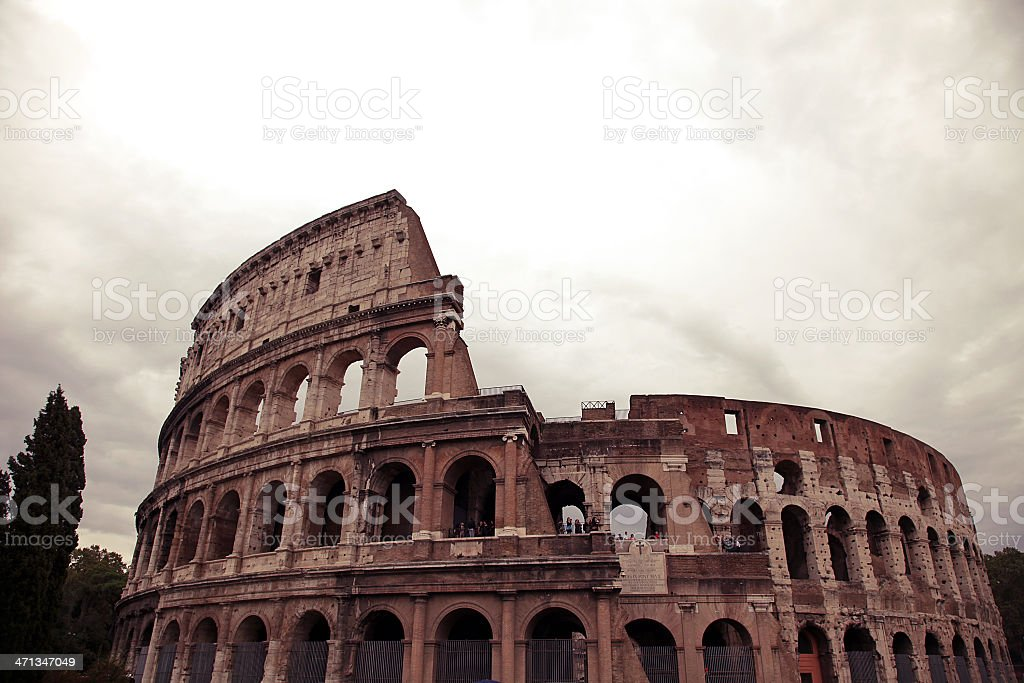 Rome Colosseum royalty-free stock photo