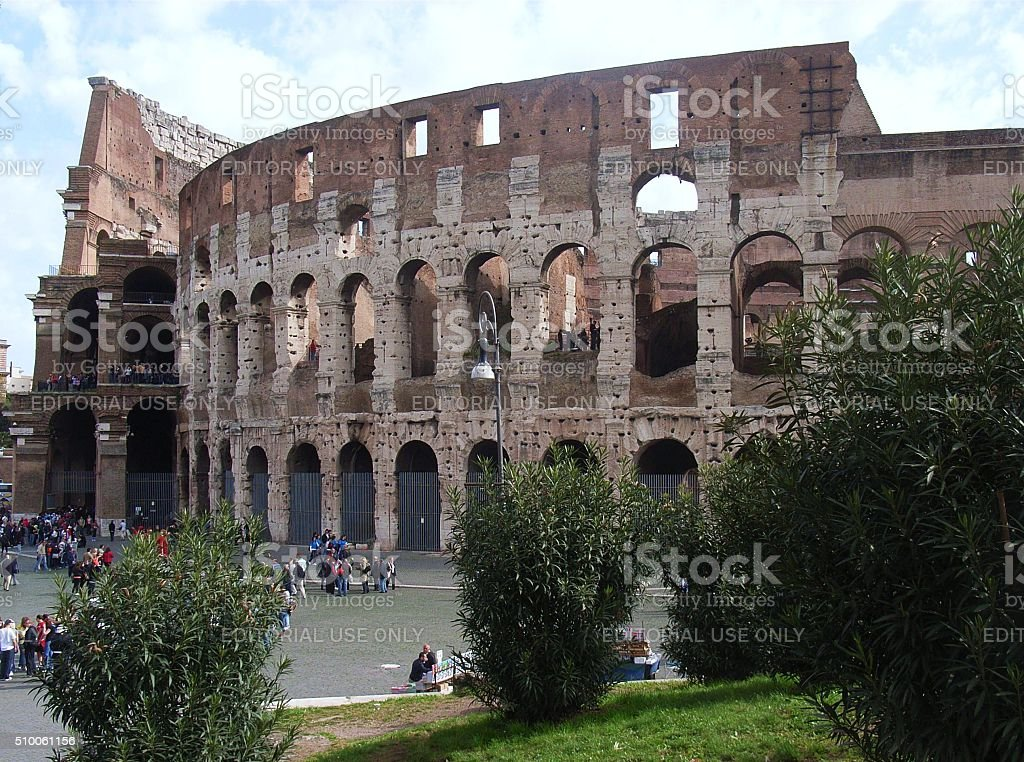 Roma - Colosseo stock photo