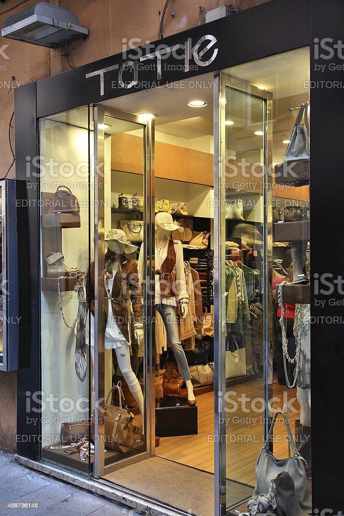 Rome fashion shopping royalty-free stock photo
