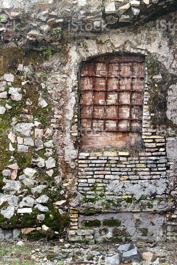 Rome, Forum of Trajan. Detail stock photo