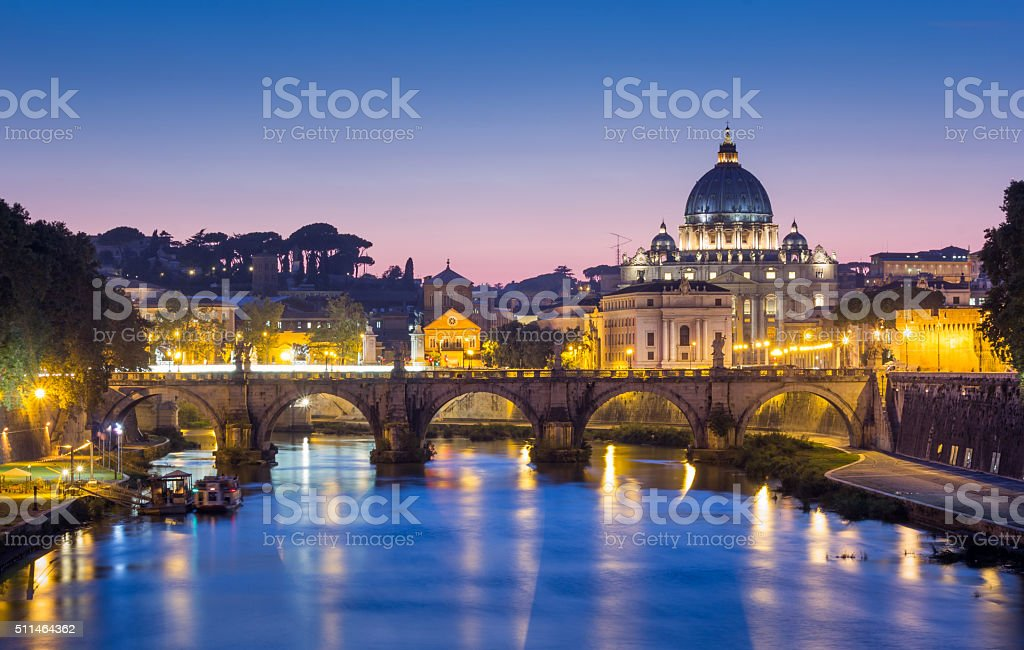 Rome in Italy stock photo