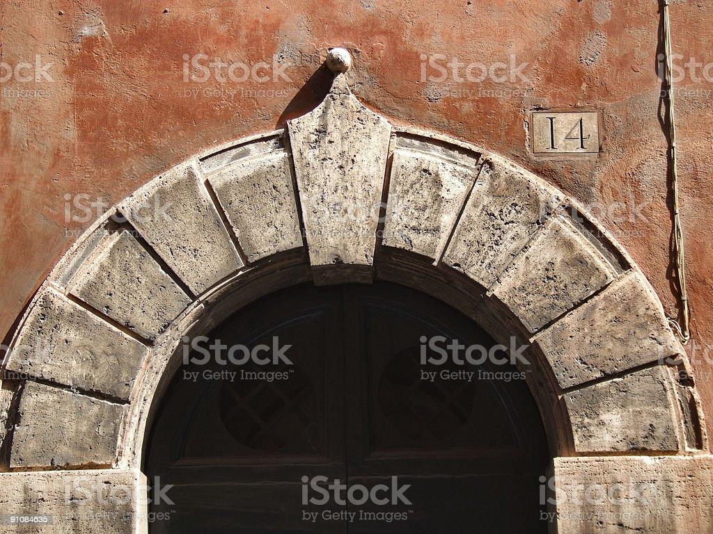 Rome - Italian architecture detail royalty-free stock photo