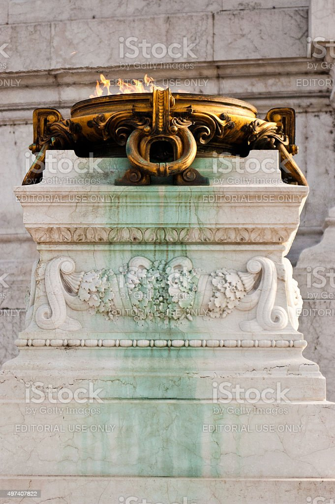 Rome, Italy, Altare della Patria stock photo