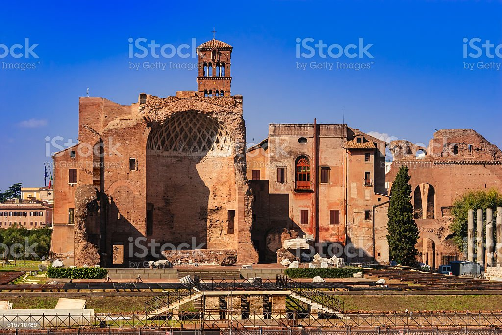 Rome, Italy - Ancient Ruins stock photo