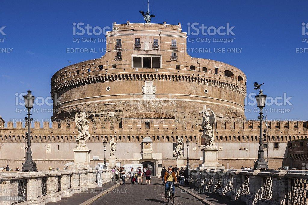 Rome, Italy - Castel Sant'Angelo stock photo