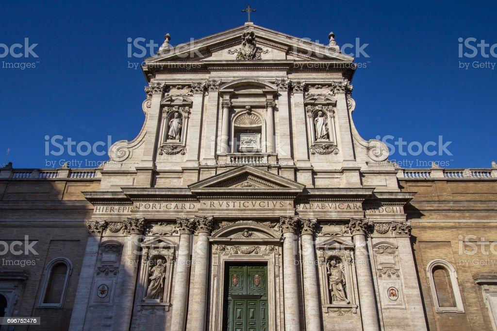 Rome, Italy - church of Saint Susanna stock photo