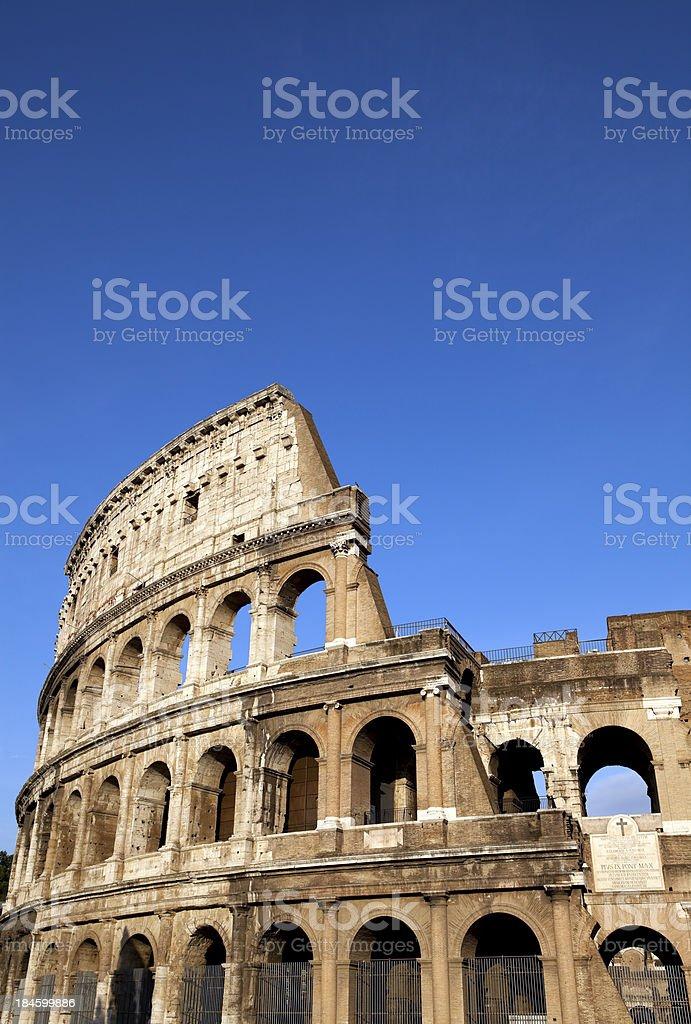 rome italy colloseum stock photo