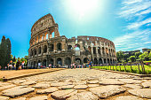Rome, Italy - May 07, 2015 - Colosseum