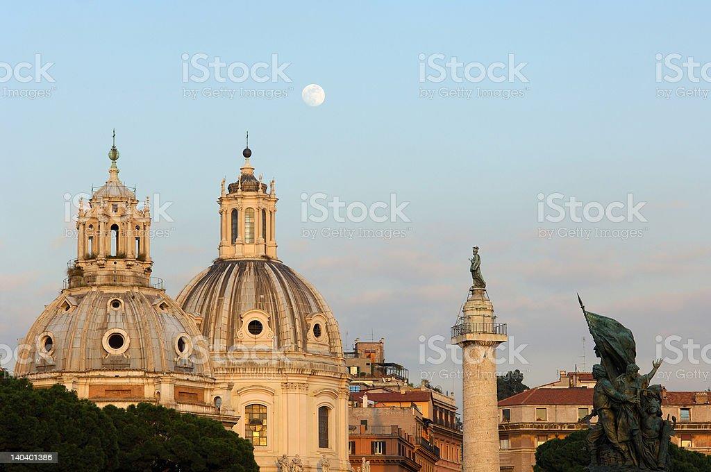 Rome, Italy, Piazza Venezzia stock photo
