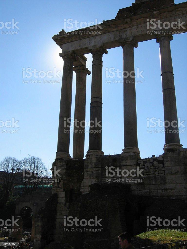 rome italy royalty-free stock photo