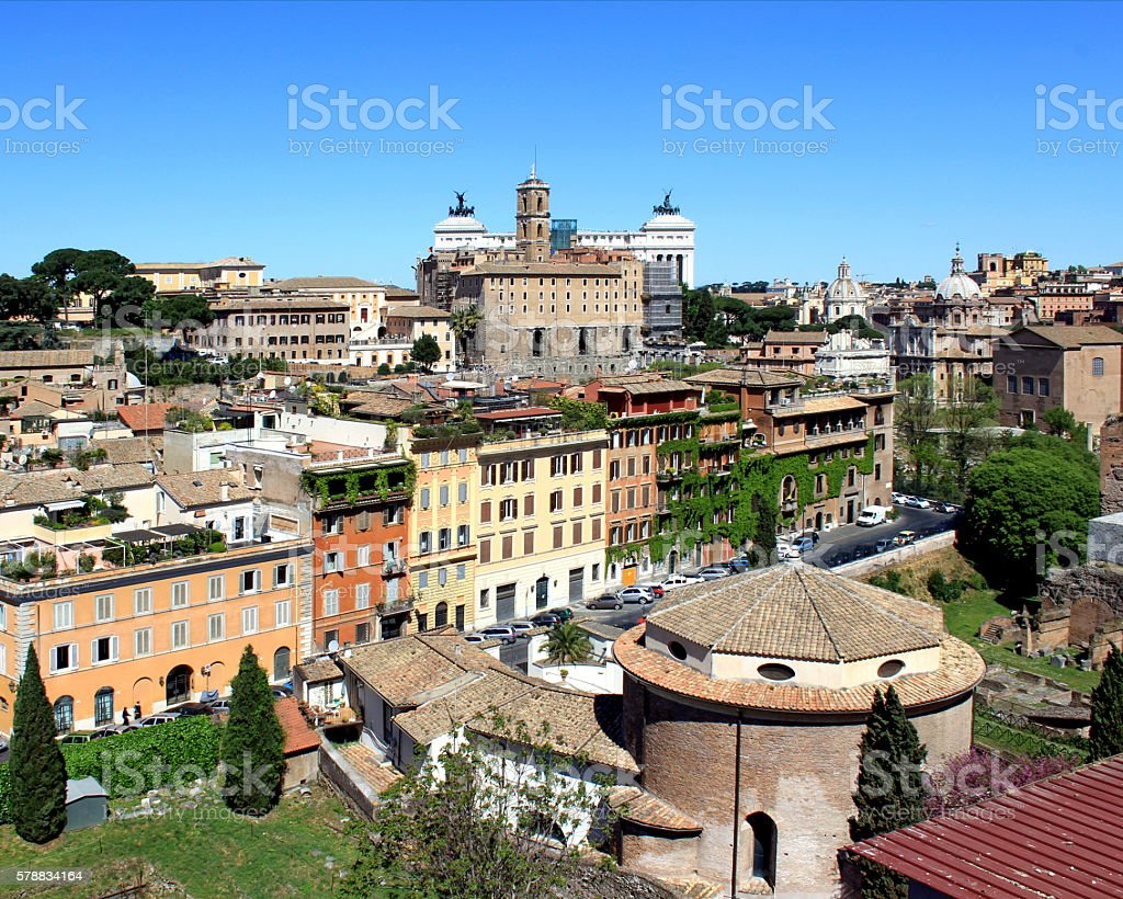Rome Landscape View stock photo