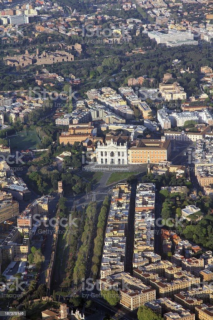 Rome - Lateran Basilica stock photo