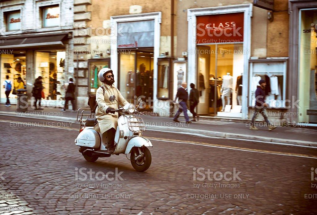 Rome lifestyle. stock photo