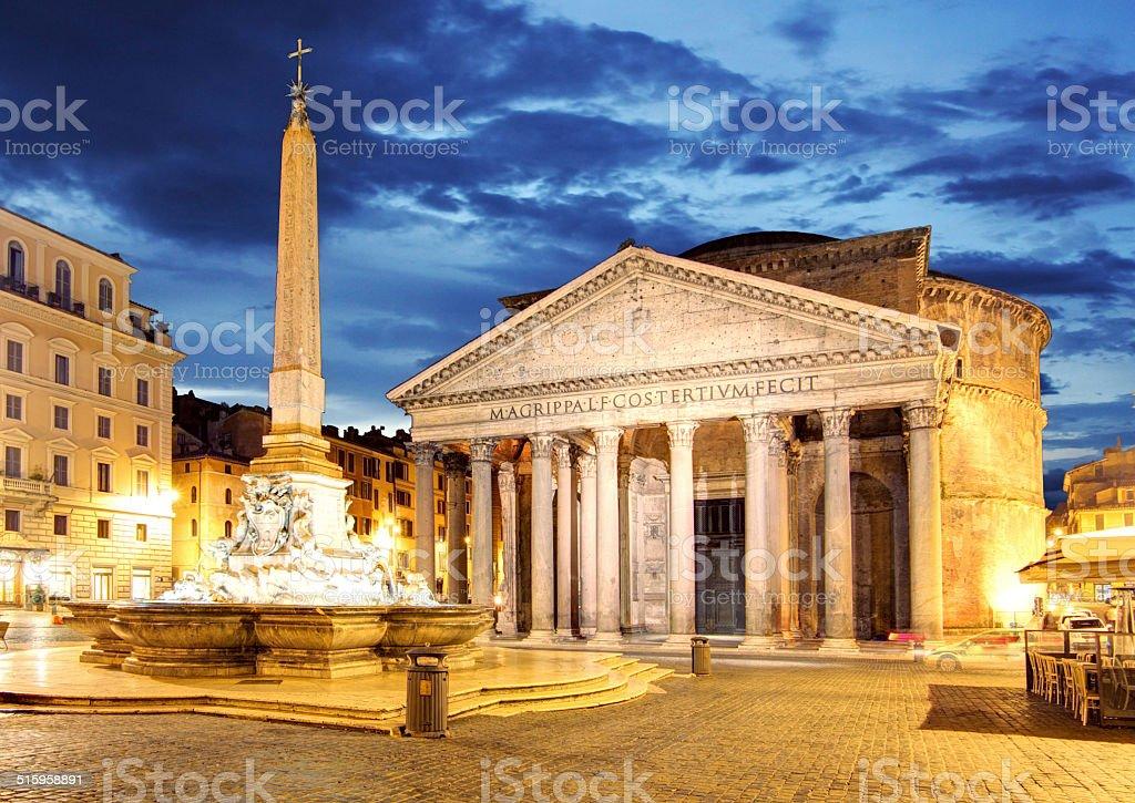 Rome - Pantheon, Italy stock photo
