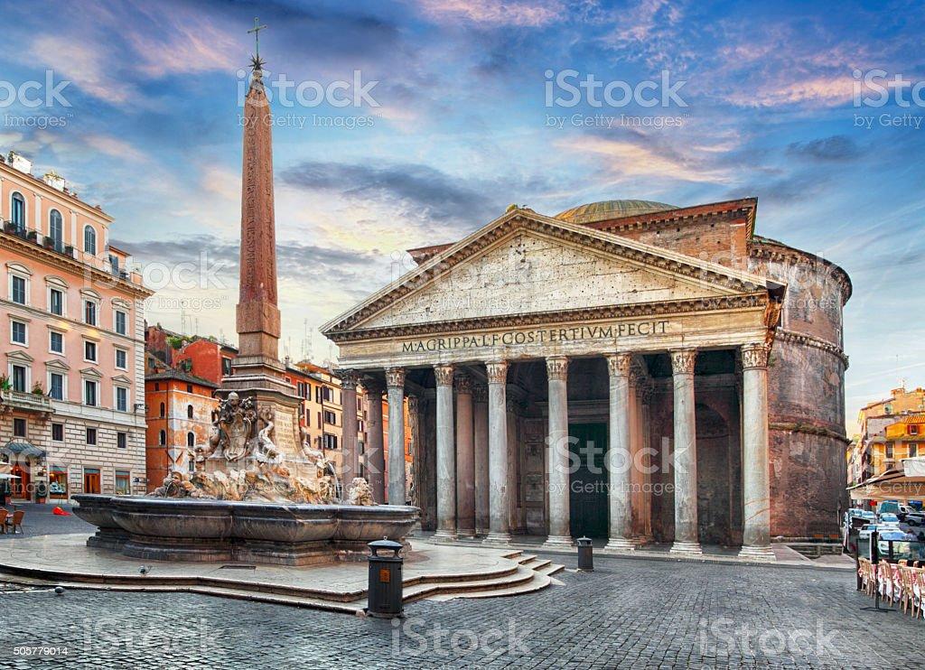 Rome - Pantheon, nobody stock photo