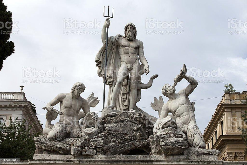 Rome - Piazza del Popolo stock photo