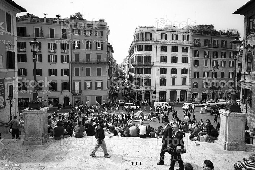 Rome, PIazza di Spagna royalty-free stock photo