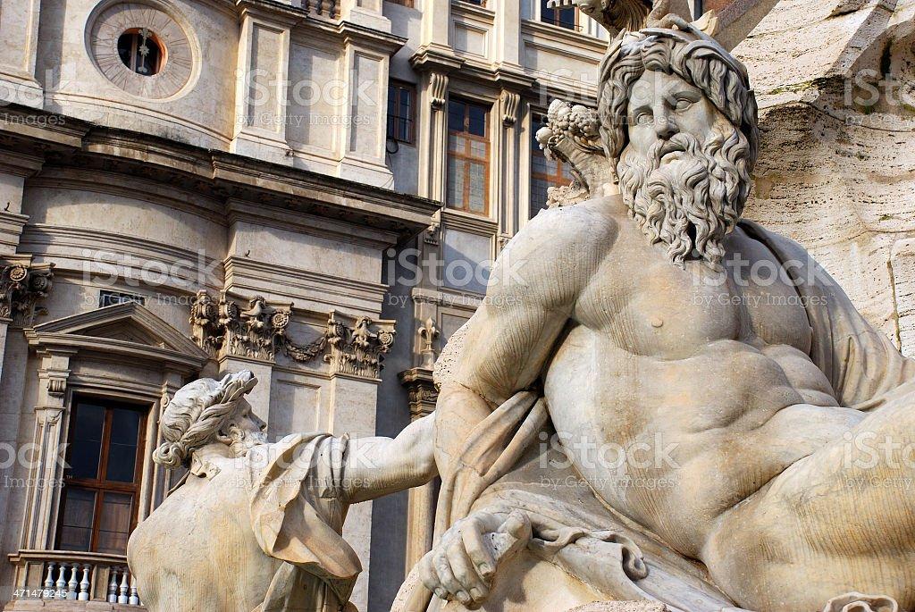 Rome - Piazza Navona royalty-free stock photo
