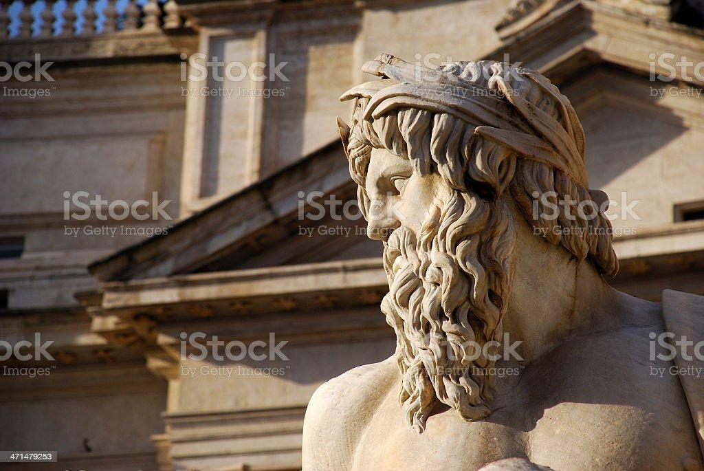 Rome - Piazza Navona stock photo
