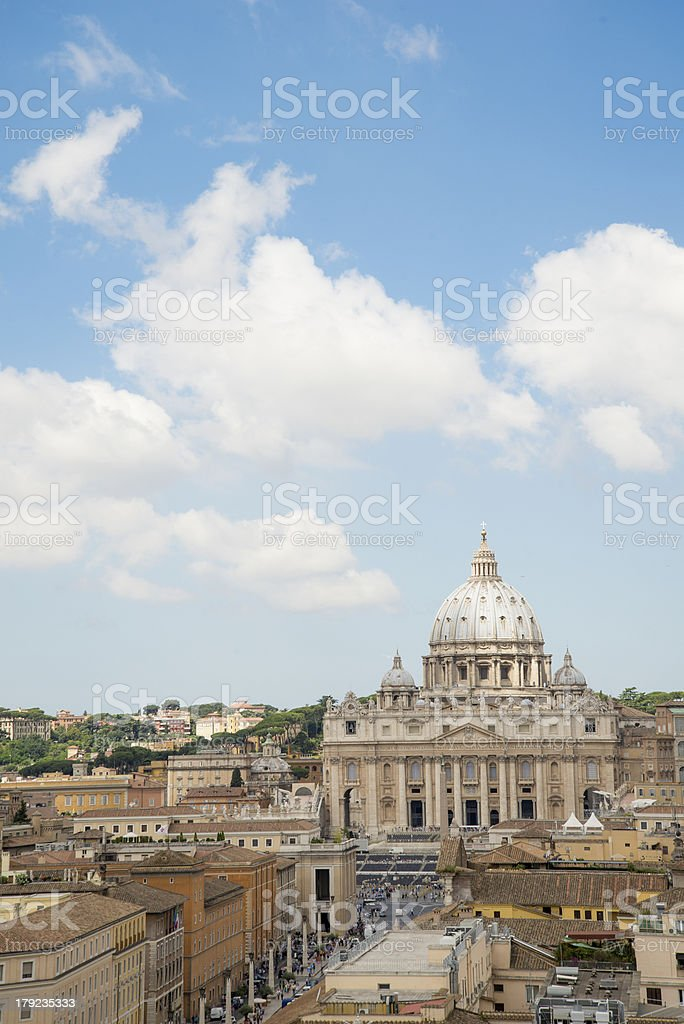 Rome places of historical interests royalty-free stock photo