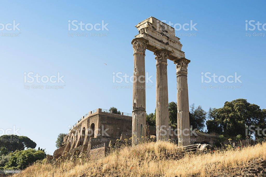 Rome ruin royalty-free stock photo