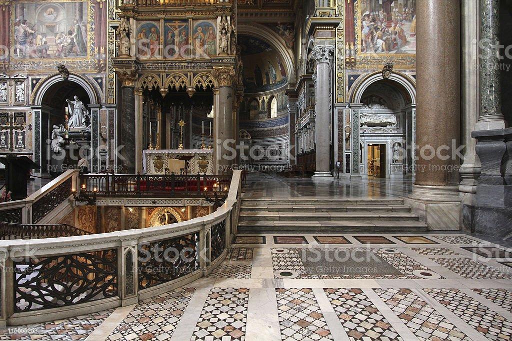 Rome - Saint John Lateran stock photo